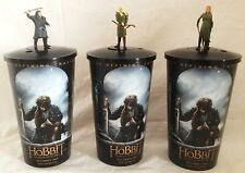 Hobbit: Battle of the Five Armies Movie Theater Exclusive Cup Topper Set w/Cups