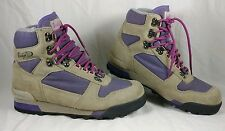 CLEAN Vasque Womens Hiking Boots Sz 10 US 40-41 Dry fit Gray Purple Mid Ht $150