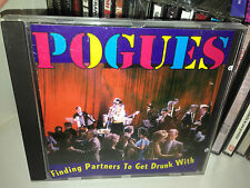 The Pogues Finding Partners To Get Drunk With Rare Cd Live In The 80's
