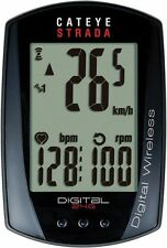 CatEye Strada CC-RD410DW Double Wireless Bike Computer Cyclometer Cadence Black