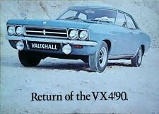 Vauxhall VX 4/90  Brochure + Motor Road Test - 1969/70