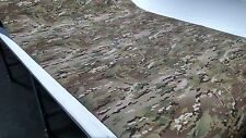 "5 Yards Multicam Camo 500D Cordura Automotive Headliner Fabric 1/8"" Foam Backed"