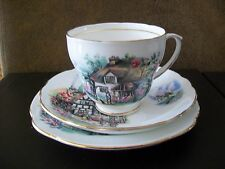 Duchess Bone China Trio -Cup, Saucer & Side Plate - Brookfield