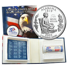 2003 Alabama D US Mint Licensed Quarter Roll Unc