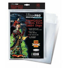 25 Ultra Pro Golden Size Resealable  Storage Bags And Boards  Brand New
