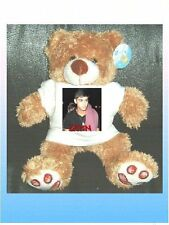 ONE DIRECTION Zayn Malik T SHIRT FOR A TEDDY BEAR OR DOLL dolls' clothes 1D