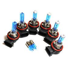H9 H11 H11 H6W 55w Super White Xenon HID High/Low/Fog/Side Light Bulbs