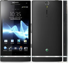 Original Sony Xperia S LT26i Black Unlocked Smartphone 32GB 12MP WIFI GPS 4.3""