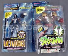 McFarlane Toys Spawn BADROCK & Wetworks Grail Deluxe Ultra-Action Figures 95 NIP