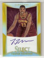 TRISTAN THOMPSON 12/13 Select GOLD Refractor auto RC #157 serial #02/10
