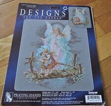 Janlynn Guardian Angel Counted Cross Stitch Kit Praying Hands Collection