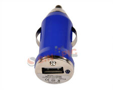 Hot Sale Royal Blue Car USB Charger Adaptor Mini Bullet for iphone 3GS 4GS 4S 5S