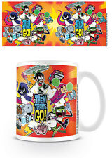 TEEN TITANS GO! CARTOON NETWORK MUG NEW GIFT BOXED 100 % OFFICIAL MERCHANDISE
