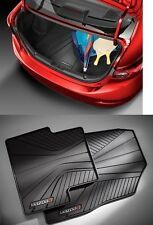 Mazda 3 (4-door)  Mazda Cargo Tray with All Weather Floor Mats (4)