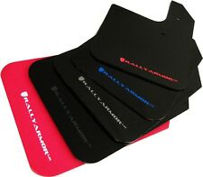 Rally Armor UR Mud Flaps Set/4 No HW Universal Fit Black w/ Red MF12-UR-BLK/RD