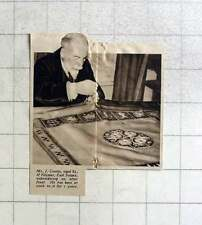 1937 Mr J Coates, Keymer East Sussex Altar Embroidery For Seven Years