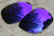 Blue Purple Custom Polarized Replacement Sunglass Lenses for Oakley Inmate