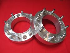 """Ford - Dually Rear Wheel F350 2"""" 8x200 WHEELS SPACERS ADAPTERS [BILLET] MACHINED"""