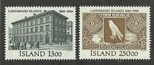 Iceland 626-627 (1986) MNH/OGnh XF to XF/S {Illustrated} 2 Stamps