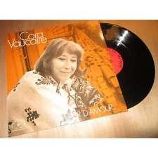CORA VAUCAIRE plaisir d'amour ... LE CHANT DU MONDE Lp 1973 DEDICACE