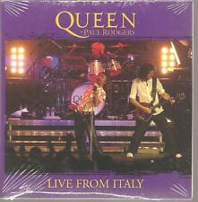 "Queen + Paul Rodgers ""Live from Italy"" 2 Track US CARDSLEEVE PROMO CD RARE SEALED"