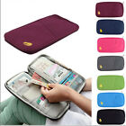 Lovely Travel Passport Credit ID Card Cash Wallet Purse Holder Document Bag