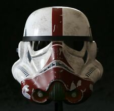 STAR WARS The Force Unleashed INCINERATOR Stormtrooper Helmet by EFX #100 NEW