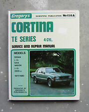 FORD CORTINA TE Gregory's Service Repair Workshop Manual GHIA 2 Litre WAGON GL
