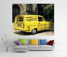ONLY FOOLS AND HORSES ROBIN RELIANT REGAL SUPER VAN GIANT ART PRINT POSTER H24