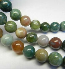 New 6mm Multicolor Natural India RARE Agate Onyx  Gemstone Loose Bead 15''