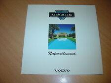 DEPLIANT Volvo 850 Summum & 960 Summum