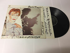 David Bowie - Scary Monsters BOW LP2 (VG-/VG-) Black Label RCA