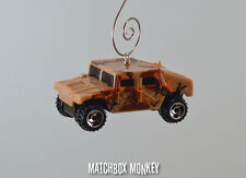 USMC USA Ops Desert Storm Military Humvee Hummer Custom Christmas Ornament 1/64