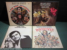 David Frye: Schallplatten-Sammlung, Vinyl Collection - 4 LP's