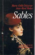 DELACOUR HULEU Sables Isabelle Eberhardt +  PARIS POSTER GUIDE