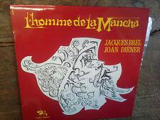 L'homme de la mancha / Jacques Brel Joan Diener disque vinyle 33 tours 803841