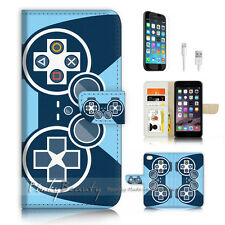 iPhone 6 6S (4.7') Flip Wallet Case Cover P3269 Video Game