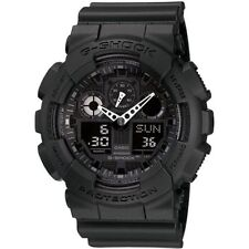 Casio Men's Combination Miltary Watch-Matte Black #GA100-1A1