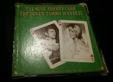 THE KING JOHNNY CASH AND THE QUEEN TAMMY WYNETTE LP RECORD SET