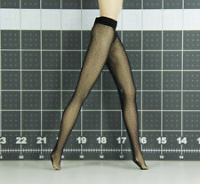 Barbie Silkstone Doll Pantyhose - Black Fishnet - Doll Clothes