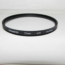 Used Promaster UV 77 mm Lens Filter Made in Philippines for 12mm 20mm 24mm Wide