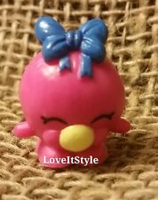 NEW Shopkins Season 1 Rare pink Bubbles 1-047 figure sweet treats gumball