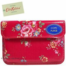 Cath Kidston Coin Purse Notting Hill Rose (red) *100% authentic*  **BNWT**