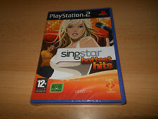 SingStar Hottest Hits PS2 NEW SEALED