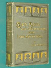 Ten Boys who lived on the road from long ago… Jane ANDREWS ill. COPELAND
