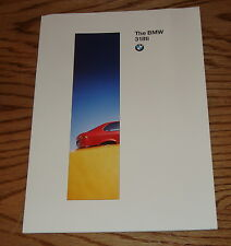 Original 1996 BMW 318ti Sales Brochure 96