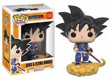 Funko Pop! Anime Dragon Ball Z Goku & Nimbus Vinyl Action Figure
