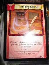 HARRY POTTER TCG GAME CARD CHAMBER OF SECRETS VANISHING CABINET 134/140 COM MINT