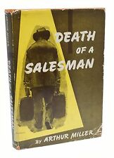 Death of Salesman Signed Arthur Miller First Edition 1949 Rare Book 1st Printing