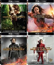 The Hunger Games (All 4 Movies)(4K Ultra HD)(UHD)(Atmos)